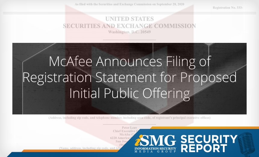 Analysis: McAfee's Planned IPO