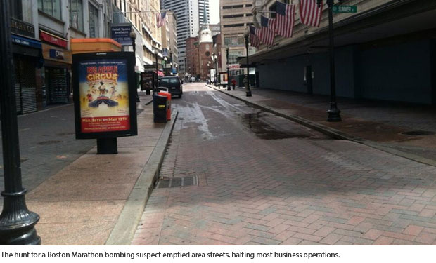 Boston Lockdown: Business Continuity